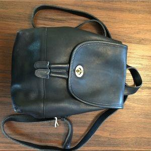 COACH 9960 Vintage Daypack Backpack Black